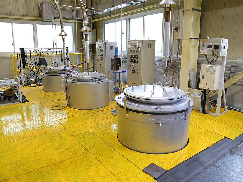 ガス窒化炉